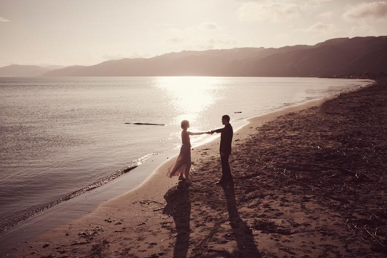 Petone beach wedding photography © Mary Sylvia Photography