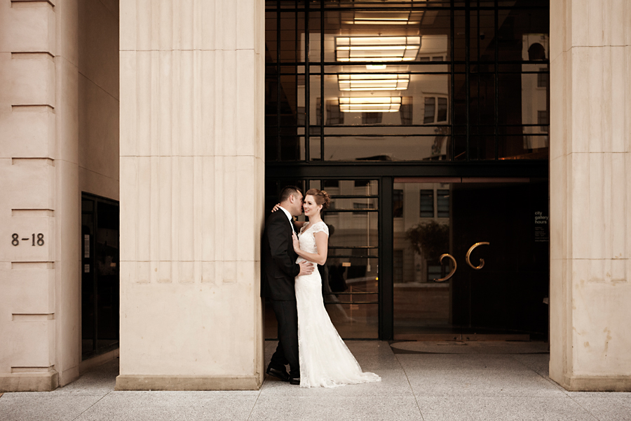 Wellington city art gallery wedding photography