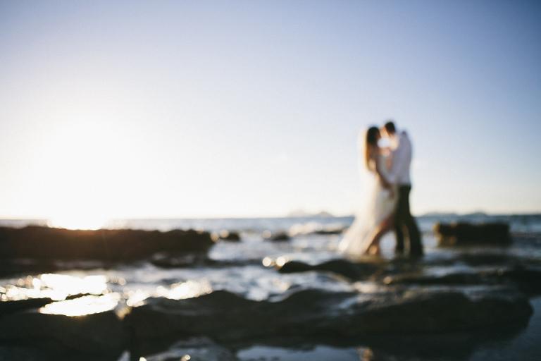 Fiji Surf Wedding Photography Trash the Dress Photo