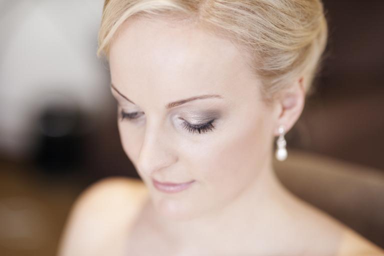 Museum Hotel Wellington Wedding Photographer, Bride hair and makeup