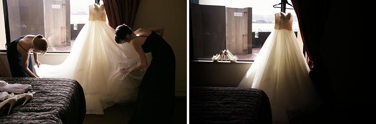 Museum Art Hotel Wellington Wedding Photographer