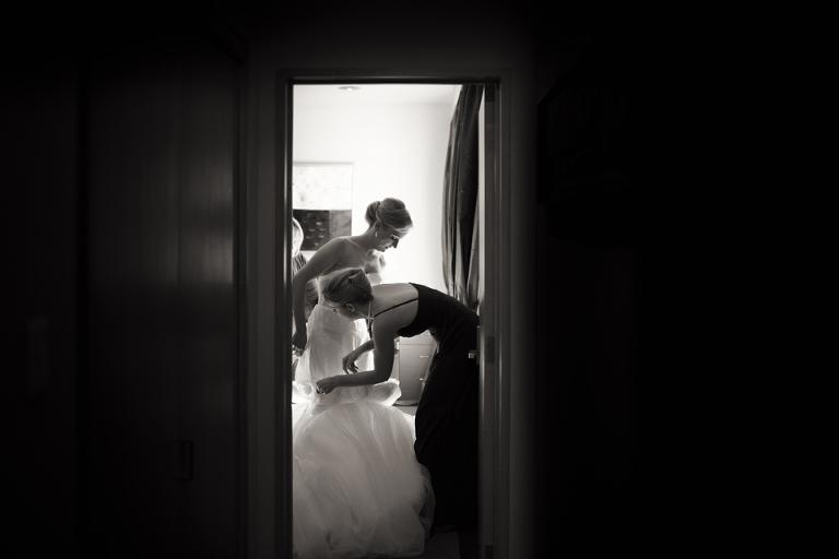 Museum Art Hotel Wellington Wedding Photographer Getting Dressed