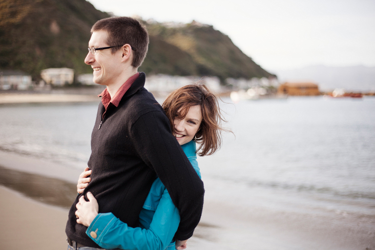 Island Bay Engagement Photography Wellington