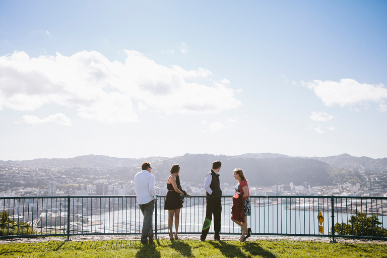Mount Victoria wedding, Wellington.