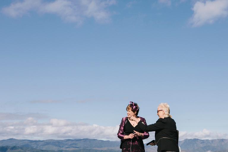 Mount Victoria wedding, Wellington.