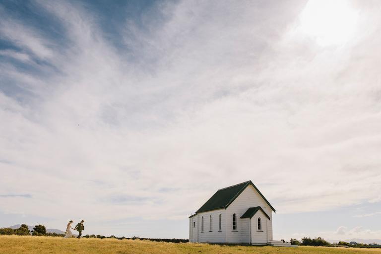 Martinborough Rural Church Wedding Photographer