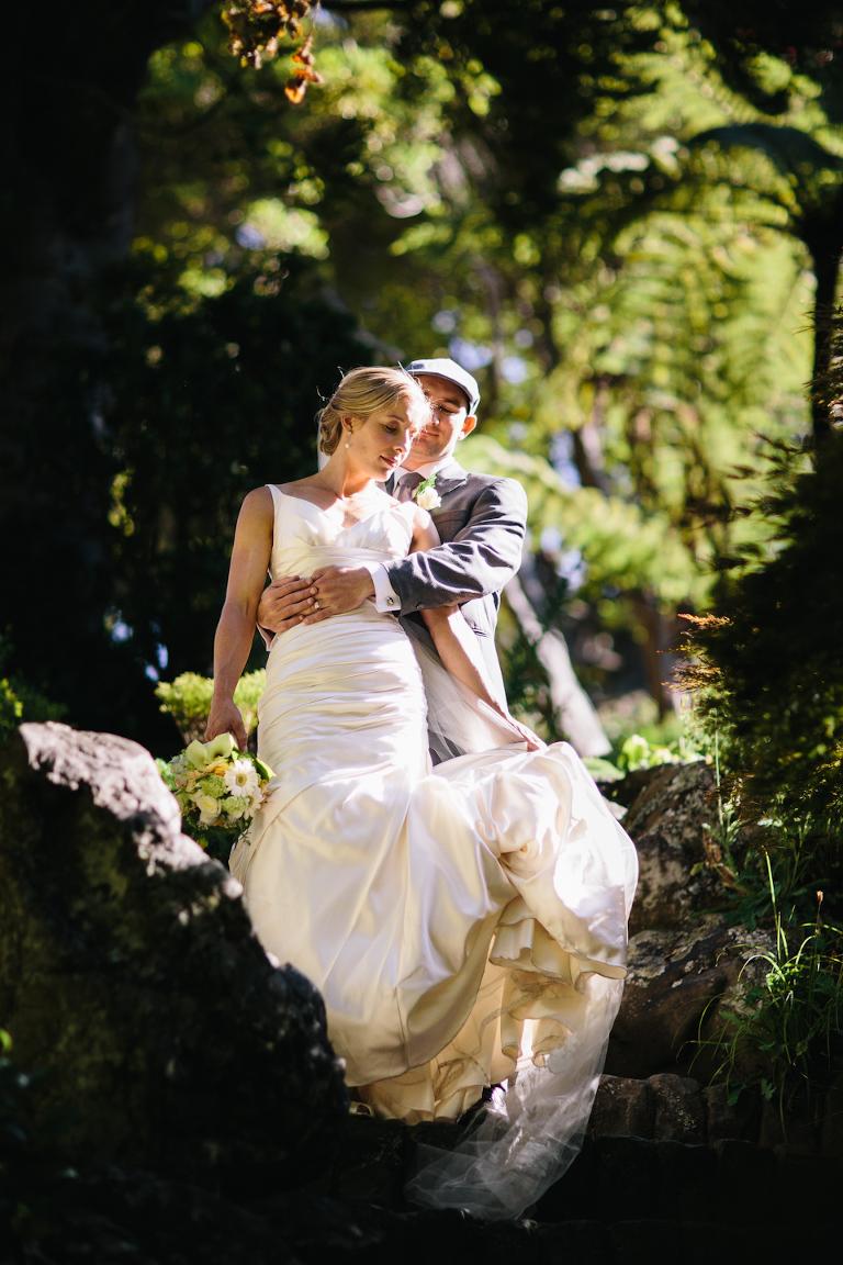 Wellington Botanical Gardens Wedding Photographer