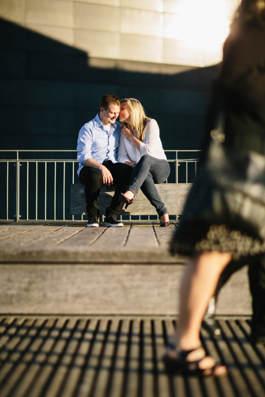 Wellington Waterfront and Oriental Parade Engagement Photography
