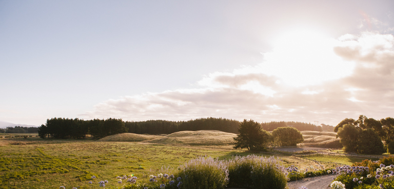 Sudbury Te Horo Farm views wedding photography panoramic