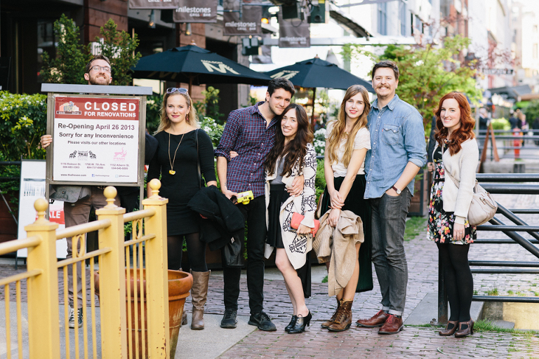 Wedding Photographers go out for Dinner in Vancouver