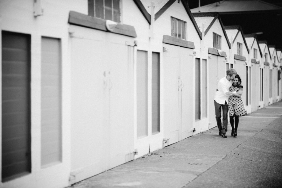 Wellington boatsheds Engagement Photography