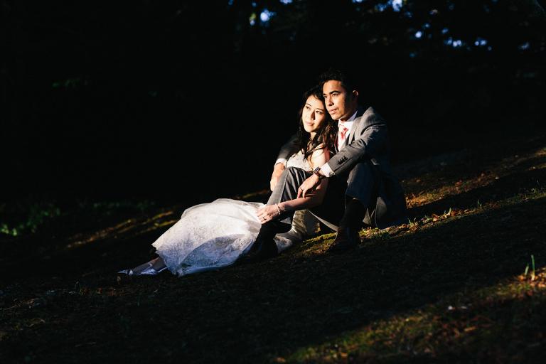 Botanic Gardens Wellington Wedding Photography
