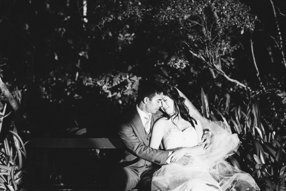 Botanic Gardens Wellington Wedding Photographer