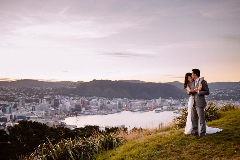 Mt Victoria Wedding Photography Wellington