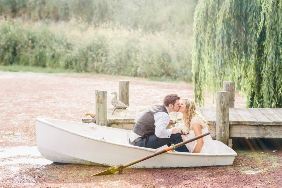 Martinborough lake wedding photography